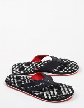 CHANCLAS CORPORATE STRIPE BEACH SANDAL