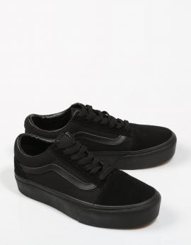 OLD SKOOL PLATFORM Negro
