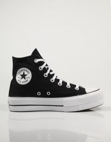 sneakers mujer cuña converse