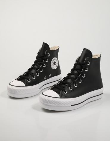 ZAPATILLAS CHUCK TAYLOR ALL STAR LIFT HI CL PIEL