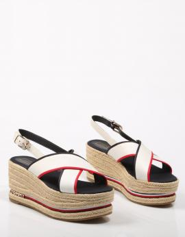 SANDALIAS FLATFORM SANDAL CORPORATE RIBBON