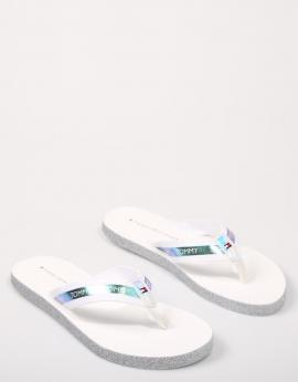 CHANCLAS FLAG BEACH SANDAL IRIDESCENT