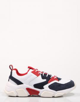 ZAPATILLAS CHUNKY MATERIAL MIX SNEAKER
