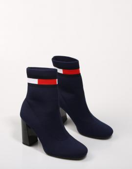 BOTINES SOCK HEELED BOOT