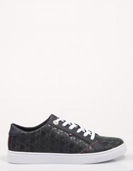 ZAPATILLAS TOMMY JACQUARD LEATHER SNEAKER
