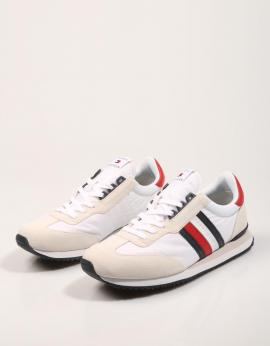 ZAPATILLAS LOW MIX RUNNER STRIPES