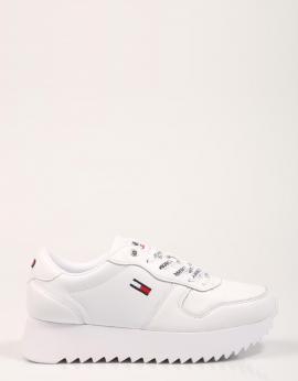 ZAPATILLAS HIGH CLEATED LEATHER SNEAKER