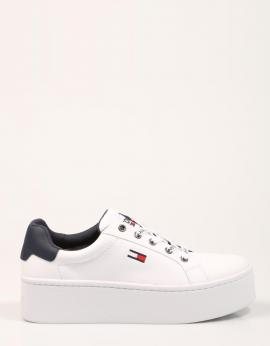 ZAPATILLAS ICONIC LEATHER FLATFORM SNEAKER