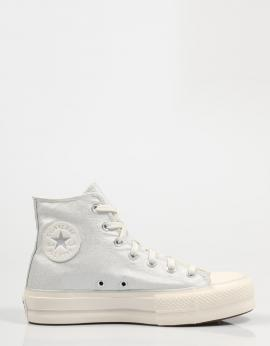 CHUCK TAYLOR ALL STAR LIFT HI Plata