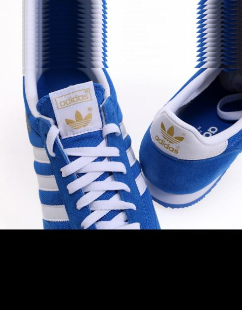 zapatillas adidas dragon azul