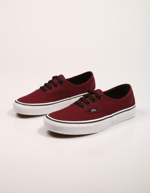 Vans Chaussures Authentiques Rouge mode sortie style 4WhMopVW
