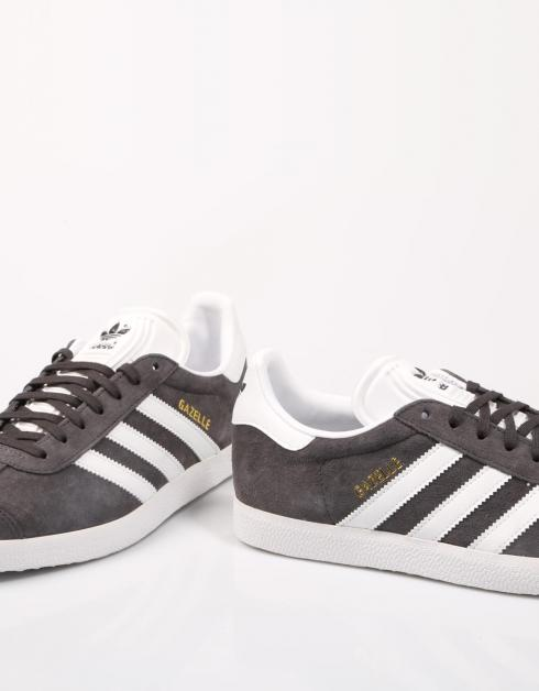 Zapatillas Gris Serraje Gazelle Adidas 59773 Yz5gqYR