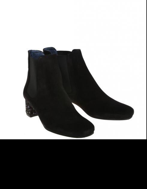 perfekt Mila Humat Svarte Støvler 6.1 billig nettbutikk 2382T