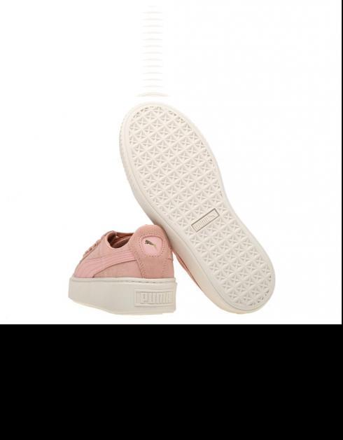 sortie nouvelle arrivée Chaussures Puma Rose Plateforme En Daim acheter à vendre 0bVCL3Qte