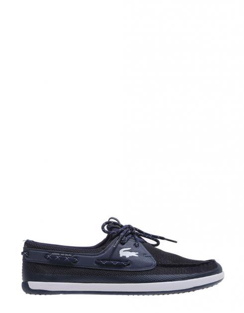 Chaussures Lacoste Landsailing Sport En Bleu Marine