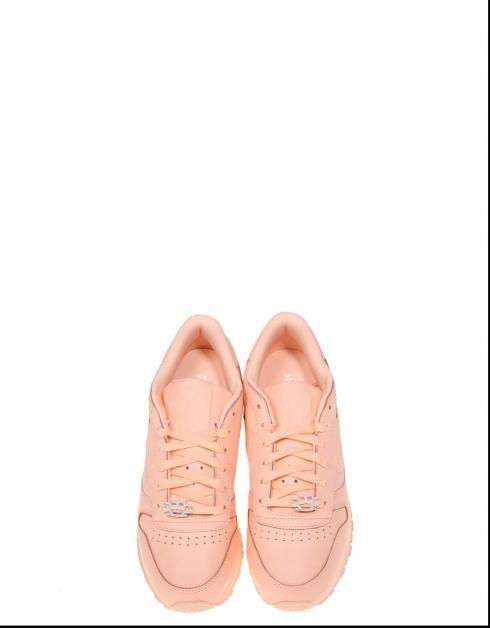 Zapatillas Reebok CL LTHR L en Rosa