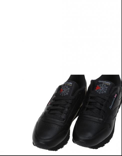 Zapatillas Reebok CL LTHR en Negro