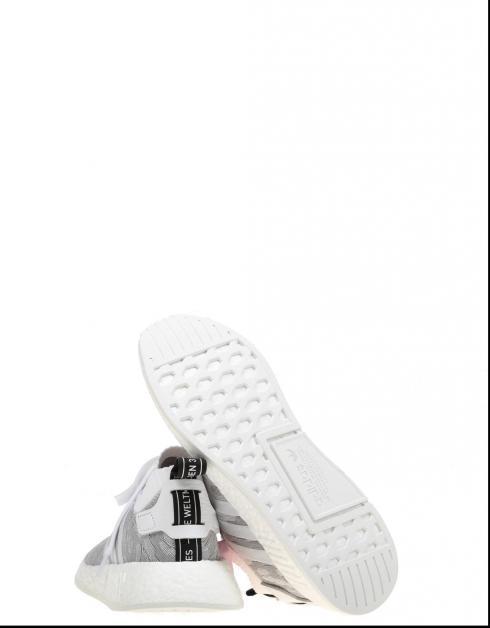 Zapatillas Adidas NMD_R2 PK W en Blanco