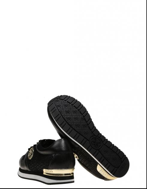 Best-seller Chaussures Guess En Flrom3 Roman Noir résistant à l'usure réduction aaa qualité supérieure rabais 7DhZt916cR