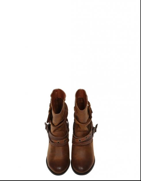 gratis frakt butikken surfe på nettet 55583 Lærstøvler Mustang billig rabatt WVkXdiCM7