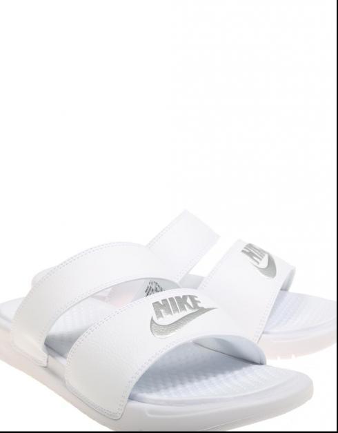 Nike Flipflops Benassi Duo Ultra Lysbilde Blank 2018 stor rabatt online Qb5gltE