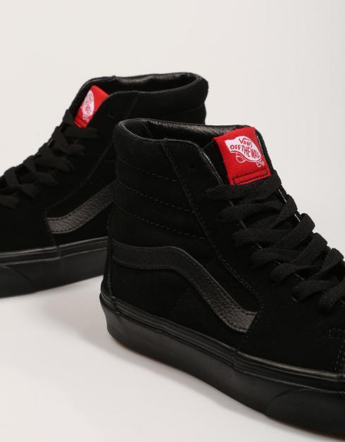 images de dégagement explorer Sk8-salut Chaussures Vans En Noir aSKxnvekub