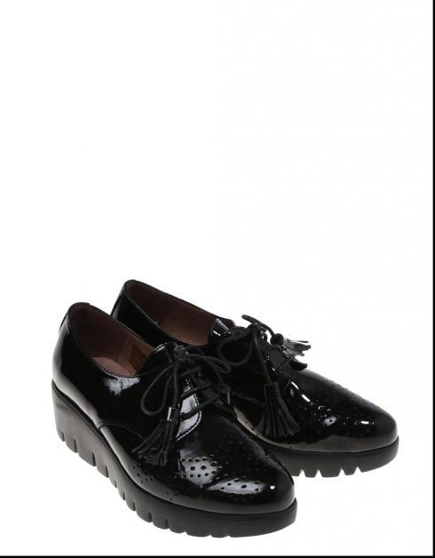 Zapatos Wonders 3385 en Negro