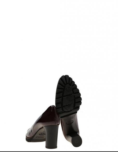 Zapatos Wonders 9401 en Burdeos