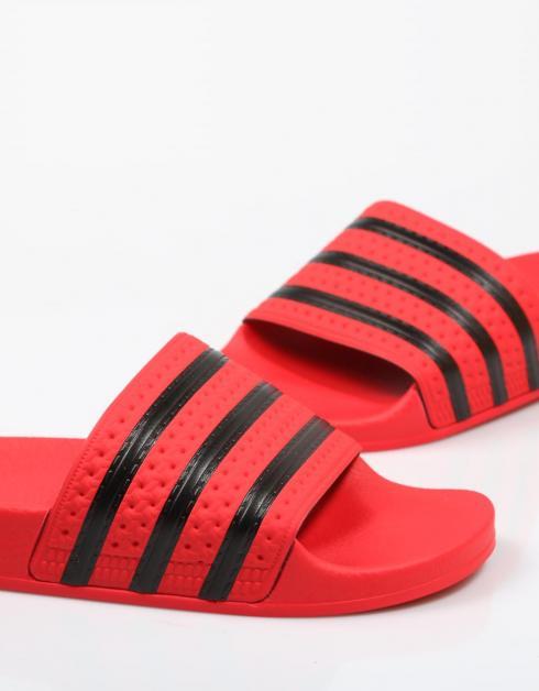 Adidas Flip Flops Red Adilette utløp footlocker målgang for salg zwdLlj64