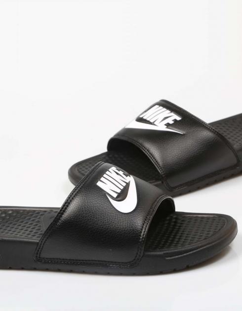 Nike Benassi Jdi I Sorte Thongs fasjonable billige online gqYDX8q