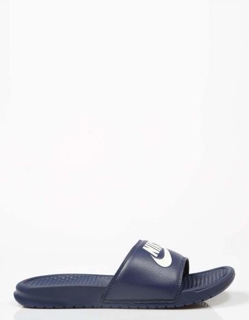 Nike Benassi Jdi Pantoufles Marine