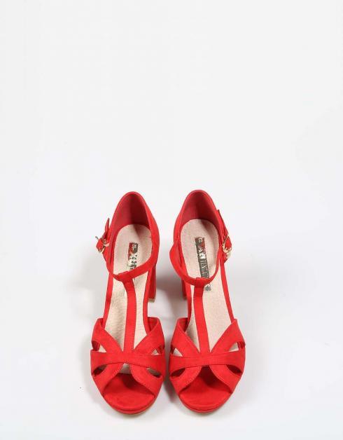 Sandalias Xti 30743 en Rojo