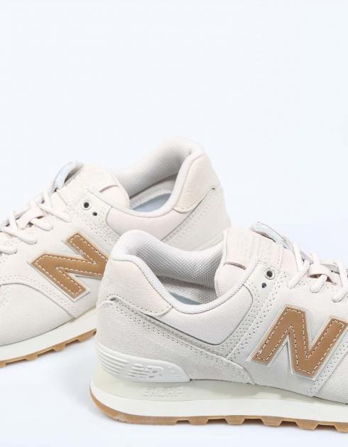 livraison rapide 574 Chaussures New Balance Wl Beige boutique en ligne budKzENmK