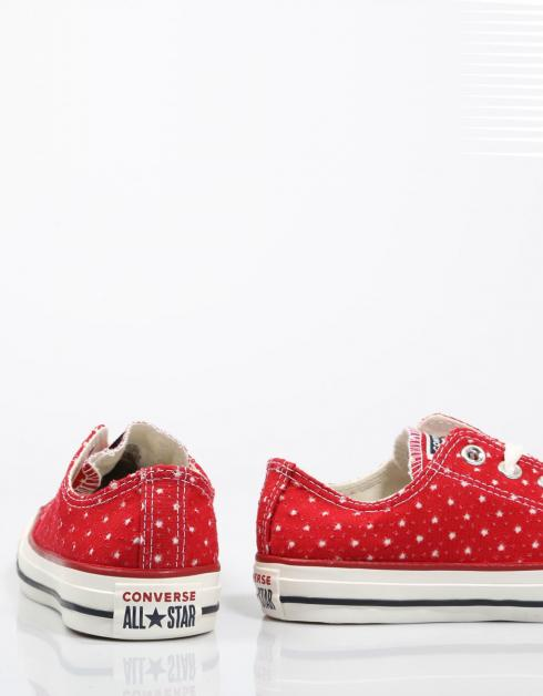 Zapatillas Converse CHUCK TAYLOR ALL STAR OX en Rojo