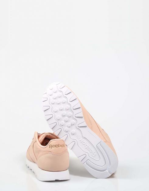 Réduction obtenir authentique visite de dégagement Chaussures Reebok Cl Lthr Nbk En Rose prix incroyable rabais ffW6D