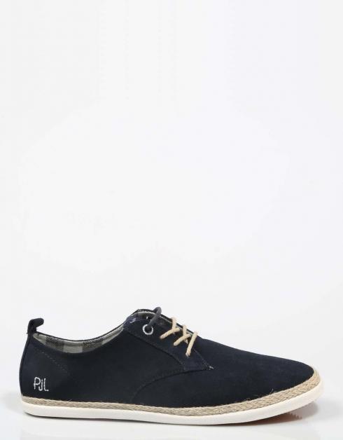 Chaussures Pepe Jeans Maui En Bleu Foncé