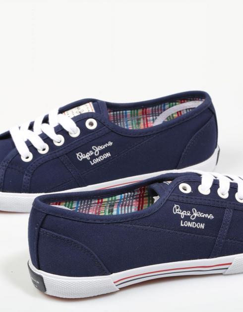 profiter à vendre jeu fiable Chaussures De Jeans Pepe Dans La Marine Aberlady 2gOxhJlp