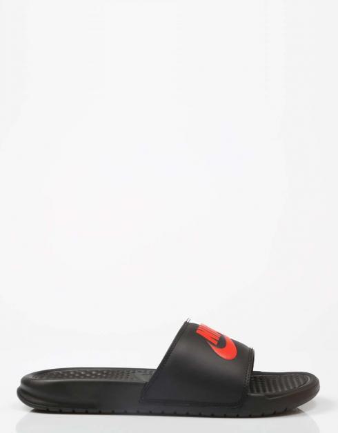 Benassi Nike Sandales En Noir
