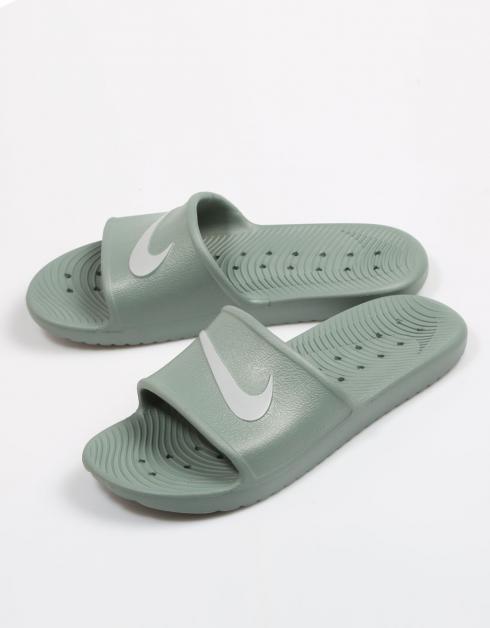 Chanclas Nike KAWA SHOWER en Kaki