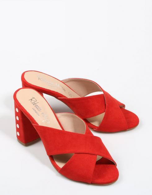 Sandalias Rebecca Hope 1401 en Rojo