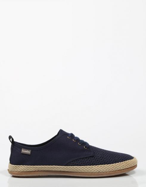 20033 Chaussures Bamba Dans La Marine