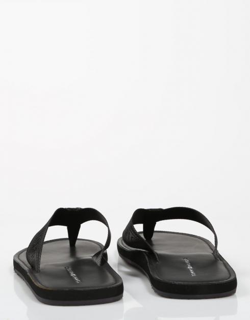 JACQUARD TH LEATHER BEACH SANDAL