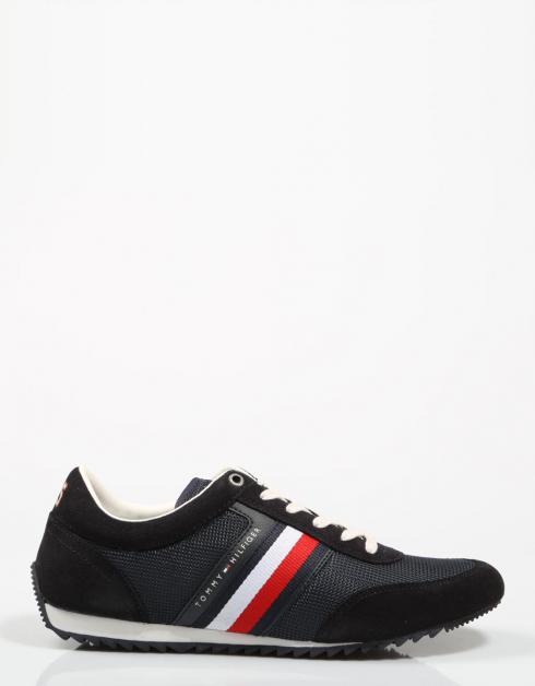 Chaussures Coureur Tommy Hilfiger Entreprise De Mélange De Matériaux Dans La Marine nouveau jeu jeu obtenir authentique le magasin à vendre n0XMZ0k4Ig