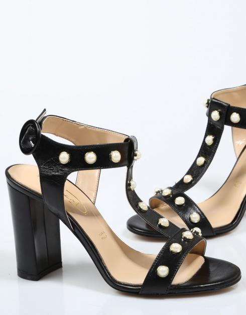 billig salg footaction Bianca Di 1067 Sandaler I Svart klaring fasjonable utløp limited edition tappesteder for salg billig ebay V9ScT29Pn6