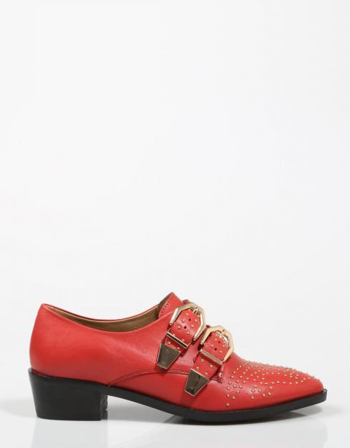 Chaussures Rouges Bronx 66077