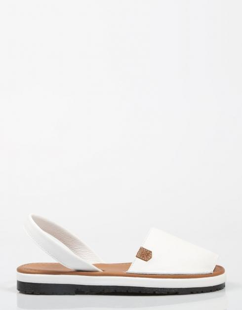 32014 Sandales Arrière Malibi Blanc la sortie populaire sites de réduction 3QYHLlZyW1