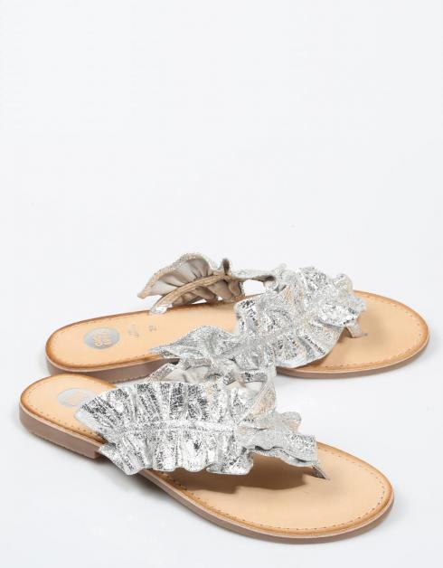 Sandales Argent Gioseppo 44764 pour pas cher Bas6h
