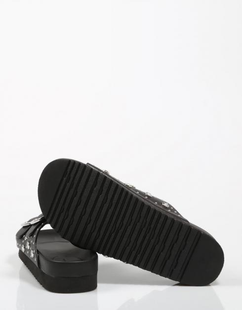 Sandales 50018 Noir Mustang vue prise officiel pas cher pas cher ebay sortie NSXLp