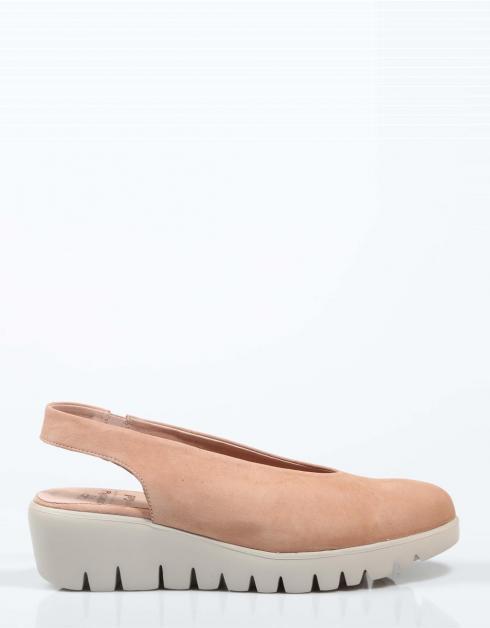 Zapatos Wonders C33124 en Rosa