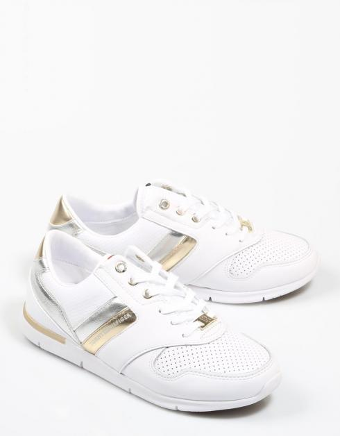 Tommy Chaussures Hilfiger Fwofw02805 Blanc nicekicks bon marché QpUeW6e5I